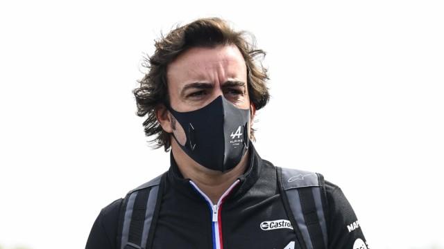 Formula 1 2021: Emilia Romagna GP AUTODROMO INTERNAZIONALE ENZO E DINO FERRARI, ITALY - APRIL 15: Fernando Alonso, Alpi