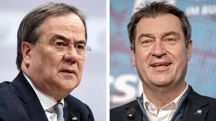 Armin Lachet und Markus Söder