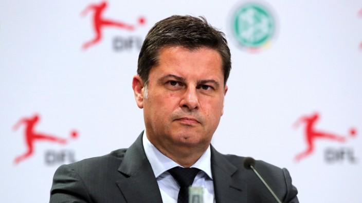 Christian Seifert / / Fußball Fussball / Generalversammlung des DFL e.V. / Saison 2019/2020 / 21.08.2019 / DFL regulati