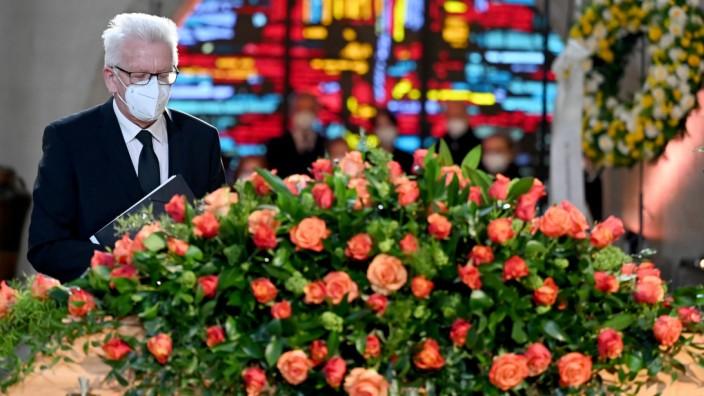 Trauergottesdienst für den Theologen Hans Küng