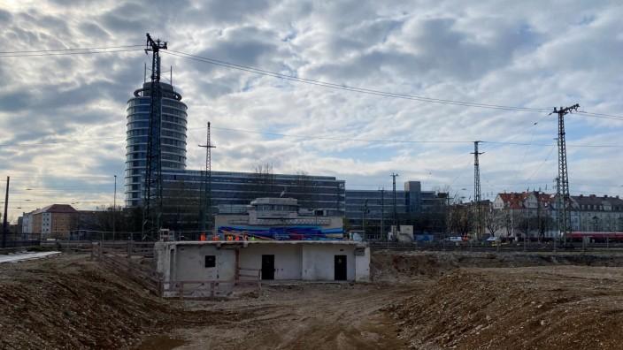 Baustellen am Ostbahnhof