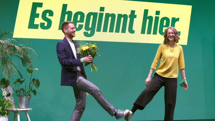 Online-Parteitag der bayerischen Grünen
