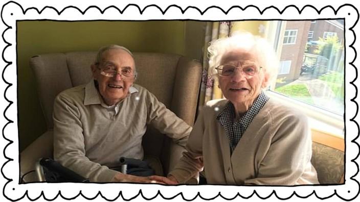Mary und Gordon können sich nach sieben Monaten endlich wieder in die Arme schließen