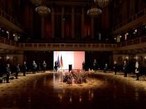 Germany Commemorates Its Coronavirus Dead