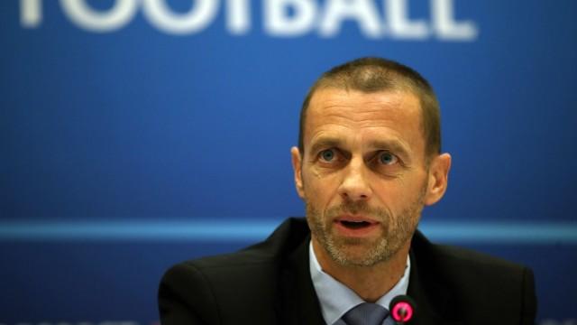 Aleksander Ceferin File Photo File photo dated 01-06-2017 of UEFA president Aleksander Ceferin. FILE PHOTO PUBLICATIONxI; Ceferin