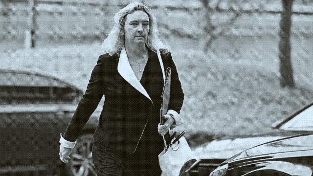 Kerstin SCHREYER, Einzelbild,angeschnittenes Einzelmotiv,Halbfigur,halbe Figur. CSU Vorstandssitzung in der CSU Zentral
