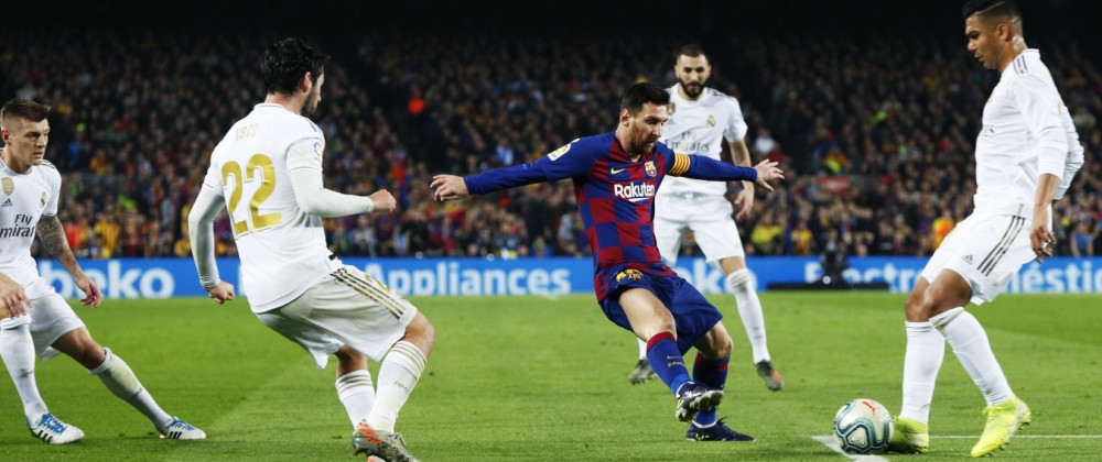 Lionel Messi (Barcelona), DECEMBER 18, 2019 - Football / Soccer : Spanish La Liga Santander match between FC Barcelona,; Messi