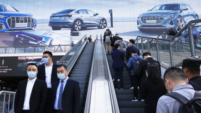 Internationale Automesse 'Auto Shanghai 2021'