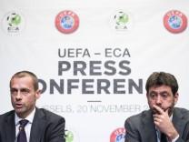 Sport Themen der Woche KW47 Sport Bilder des Tages Sport Bilder des Tages UEFA President Aleksander; Super League