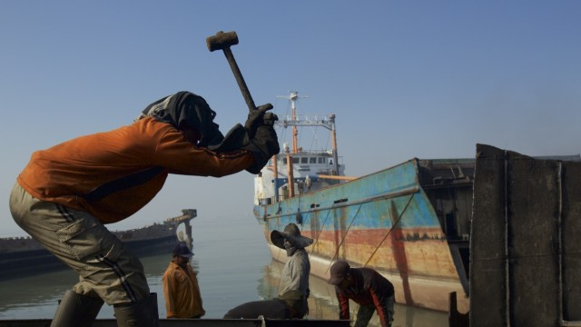 Indonesia's Ship Breaking Industry