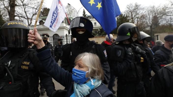 Tschechien - Ausweisung russischer Diplomaten