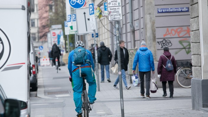 Radweg Orleansstraße