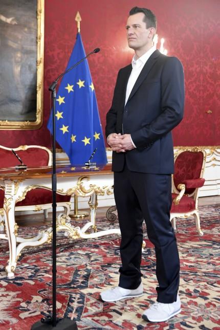 Neuer Gesundheitsminister Mückstein von Österreich