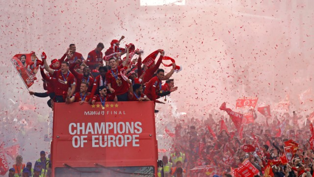 Champions League - Liverpool victory parade