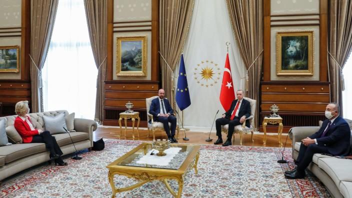 EU-Spitzen treffen Erdogan inAnkara