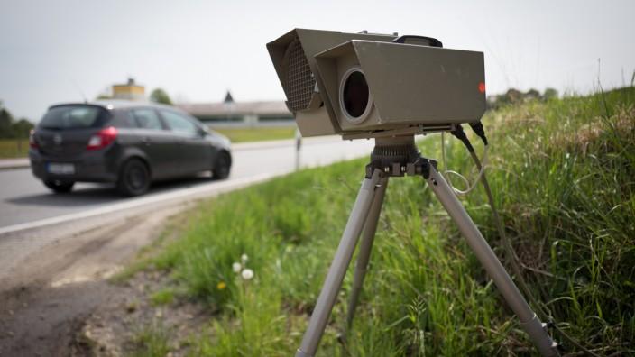 Radarkontrolle in Zieglberg, 2020