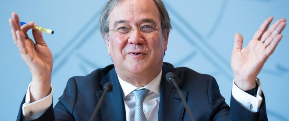 CDU-Bundesvorstand will Laschet als Kanzlerkandidaten
