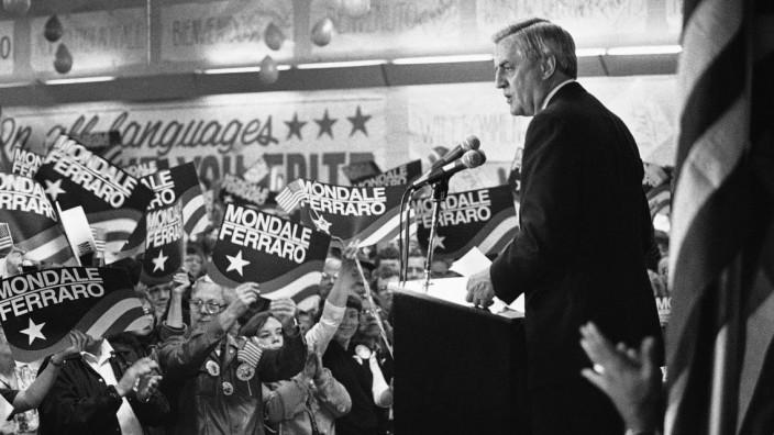 Früherer US-Vizepräsident Walter Mondale gestorben