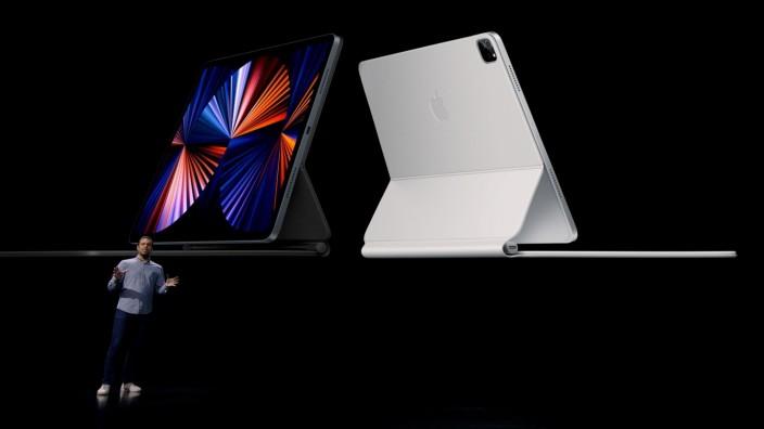 Apple: Raja Bose präsentiert das neue iPad Pro in Cupertino