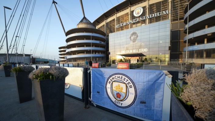 Europäische Super League - Manchester City