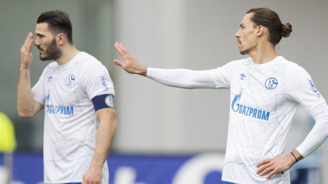 FC Schalke 04: Sead Kolasinac und Benjamin Stambouli beim Spiel gegen den SC Freiburg