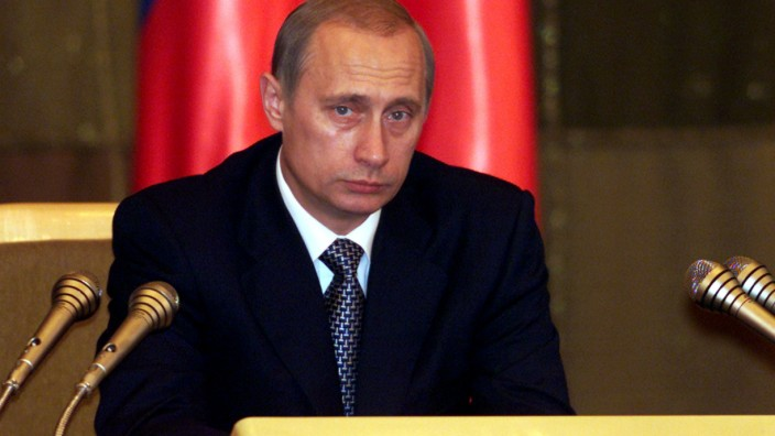 PRESIDENT PUTIN PREPARES DELIVERS HIS STATE OF THE NATION ADDRESS IN MOSCOW