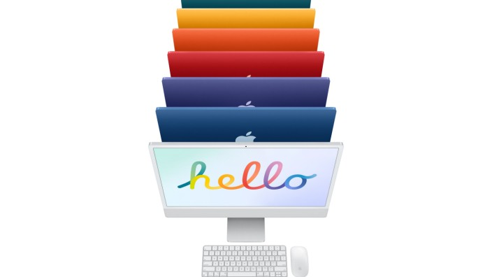 Neues von Apple: Bunte iMacs und iPad Pro mit Superchip M1