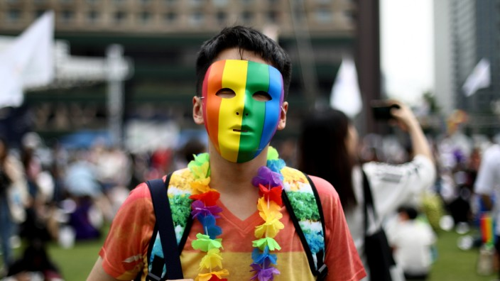 LGBT Supporters Gather At The Seoul Queer Culture Festival
