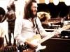 THE BLUES BROTHERS, from left: Matt Murphy (aka Matt Guitar Murphy), Steve Cropper (aka Steve The Colonel Cropper), 1980