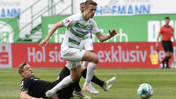 20.04.2021 - Fussball - Saison 2019 2020 - 2. Fussball - Bundesliga - 30. Spieltag: SpVgg Greuther Fürth ( Kleeblatt )