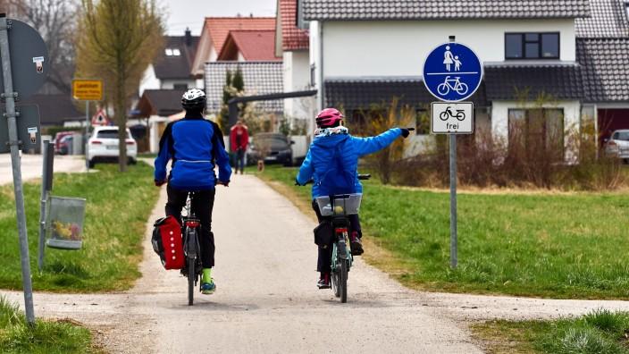 Radweg Speicherseestrasse