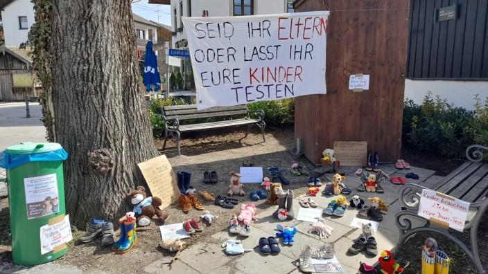 Tutzing Corona Eltern Protest Querdenker