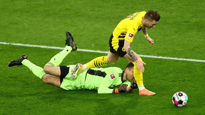 Football: Bundesliga - day 30: Borussia Dortmund v 1. FC Union Berlin