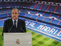 Real-Präsident Pérez: Super League ist noch nicht gescheitert