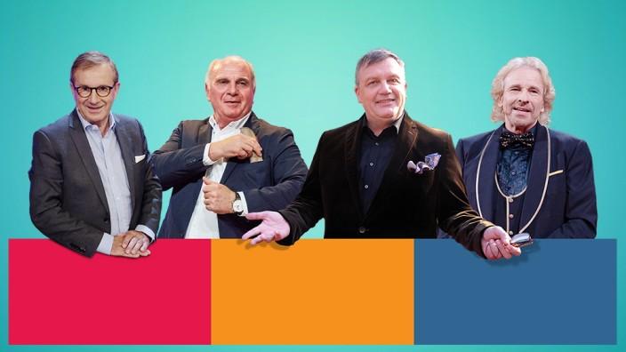 Collage Medien, neue alte Gesichter bei RTL