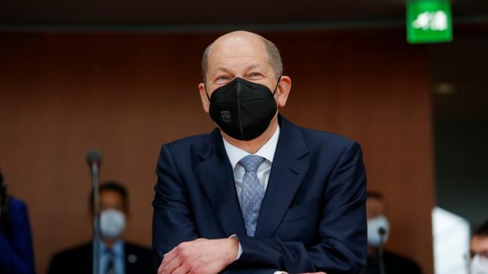 Finanzminister Olaf Scholz (SPD) im Wirecard-Untersuchungsausschuss