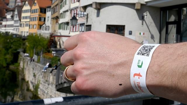 Corona in Deutschland: Modellprojekt in Tübingen