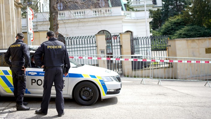 Tschechien wirft russische Diplomaten aus dem Land