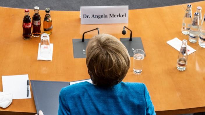 Wirecard-Affäre: Kanzlerin Merkel im Wirecard-Untersuchungsausschuss.