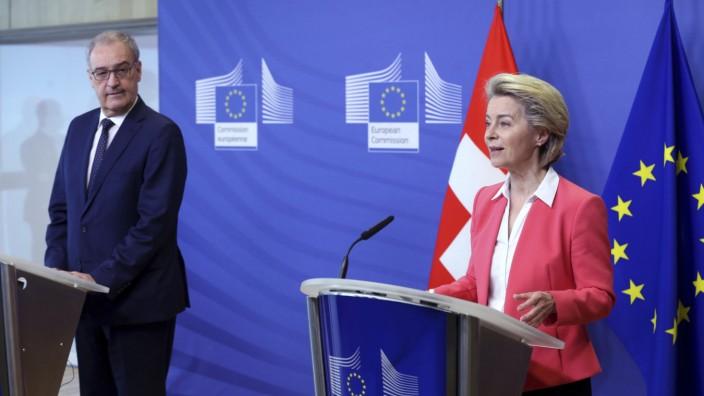 EU-Kommission - Treffen mit der Schweiz
