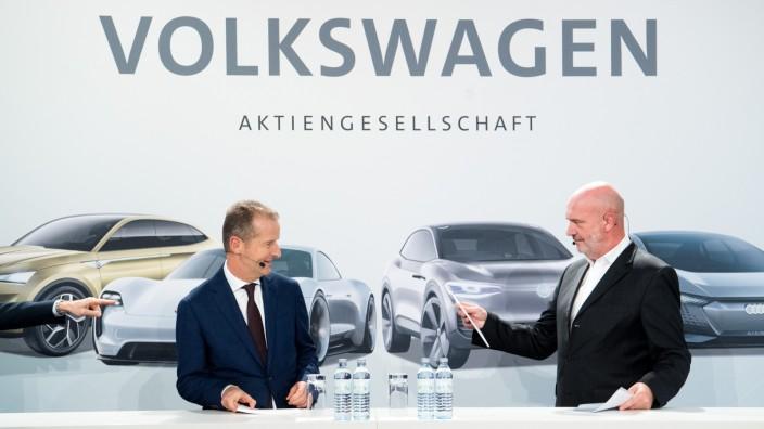 Volkswagen Pressekonferenz