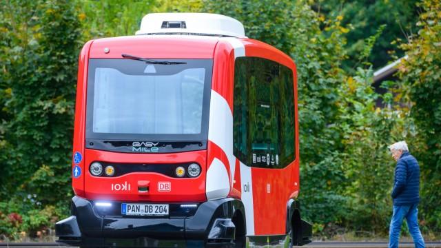 Fahrerloser Elektrobus in Bad Birnbach