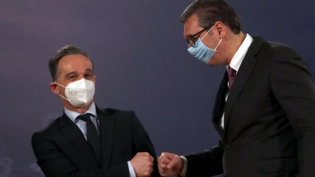 Außenminister Maas in Serbien