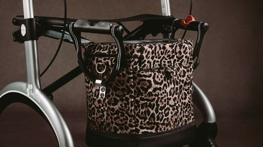 Designertasche für den Rollator