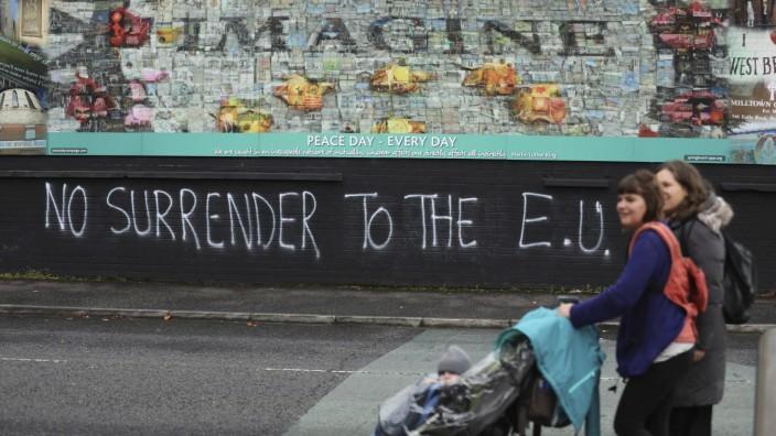 23. Jahrestag des Karfreitagsabkommens in Nordirland