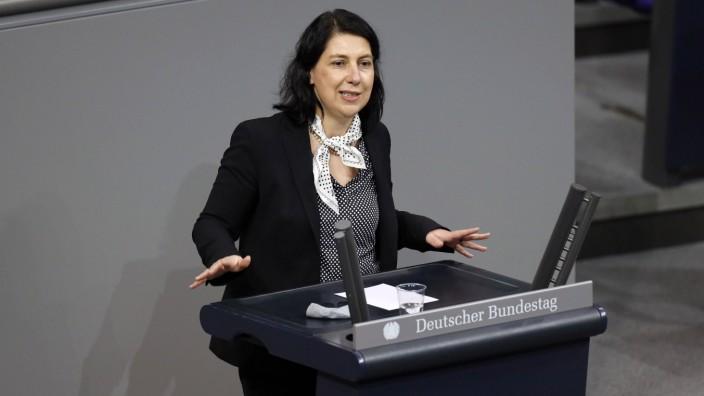 Katja Hessel in der 204. Sitzung des Deutschen Bundestages im Reichstagsgebäude. Berlin, 14.01.2021 *** Katja Hessel at