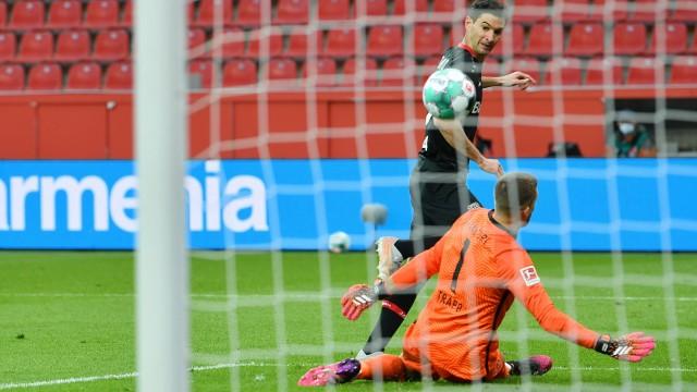 Leverkusen, Bayarena, 24.04.21, GER, Herren, 1.Bundesliga, Saison 2020-2021, Bayer 04 Leverkusen - Eintracht Frankfurt B