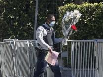 Attentat auf Polizistin in Frankreich