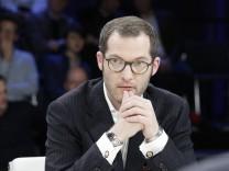 Julian Reichelt Journalist Vorsitzender der Bild Chefredaktionen Berlin ZDF Polit Talk Maybrit