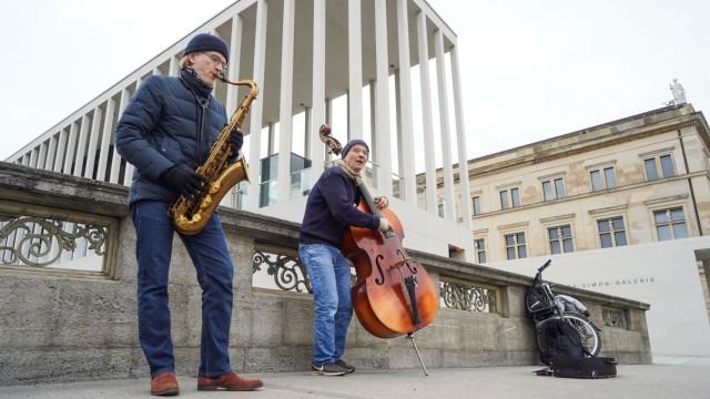 Straßen-Konzert